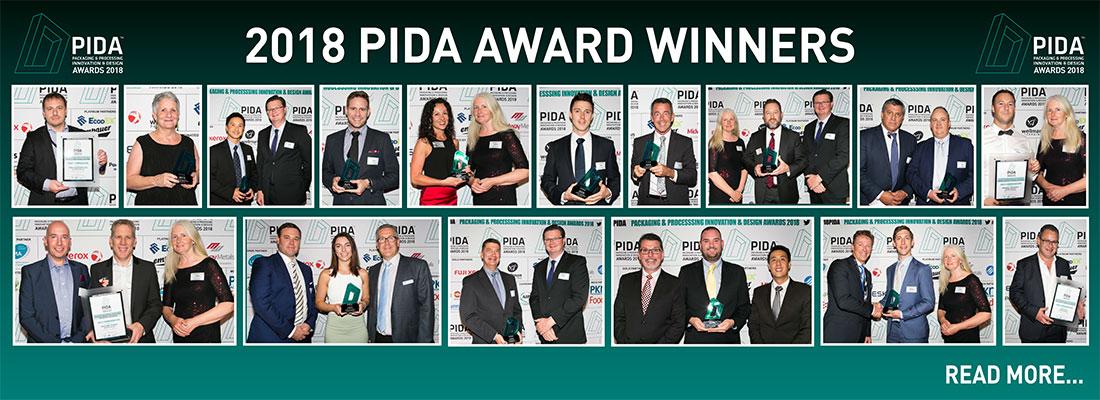 2018 PIDA Winners