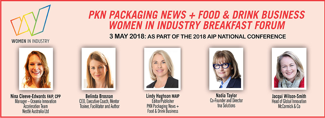 2018 Women In Industry Breakfast